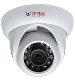 CP Plus 1MP 12 IR HDCVI Dome Camera - White