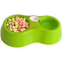 2 In 1 Food Bowl With Water Bowl For Puppies / Dog / Ca