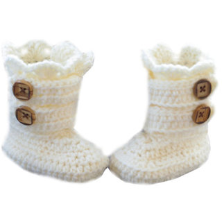 Every baby needs several pairs of adorable booties. Since babies grow so fast, they'll need a different size shoe almost every other month! The good news?
