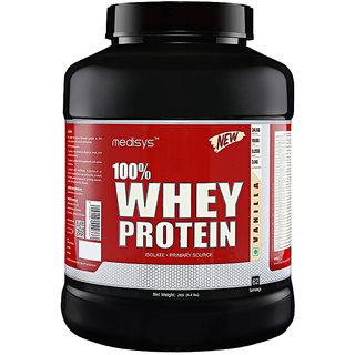 Medisys 100 Whey Protein - Vanilla - 2Kg
