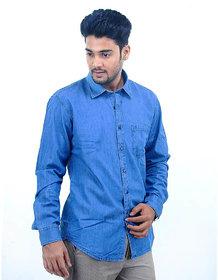 Kotfeel Blue Casual Shirt