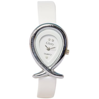00aa1fe4e8e Buy Women Fancy White Designer Casual Analog Girls and ladies watch. Online  - Get 88% Off