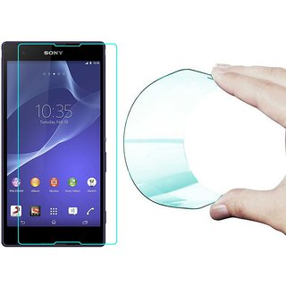 25D Curved Edge HD Flexible Tempered Glass Screen Protector for Sony Xperia Z Ultra