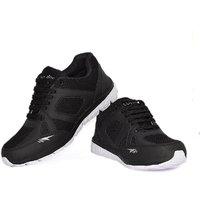Blue Pop Men'S Black Running Shoes