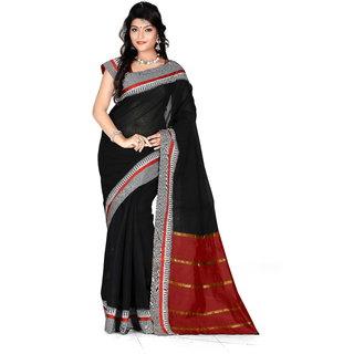 kanak new designer party wear black color saree