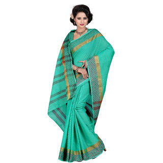kanak new designer sky blue color saree