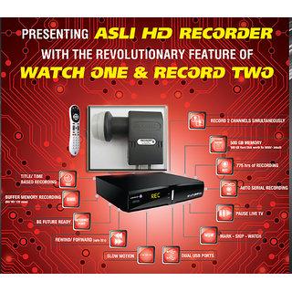 Videocon D2H HD DVR