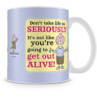 Aunty Acid - Don't take life seriously Mug