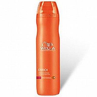 Wella Enrich Volumizing Shampoo 250ml Fine/normal