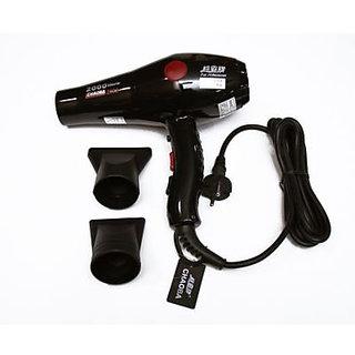CHAOBA 2800 HAIR DRYER PROFESSIONAL POWERFUL 2000 WATT (CHAOBA 2800) RED / black
