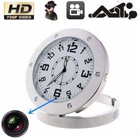 Spy Camera Mirror Table Clock
