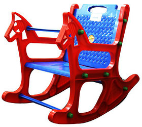 ABASR BABY KIDS MULTICOLOUR  ROCKING CHAIR 2 IN 1