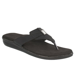 Dia One L.Cozy 030 Black Color3 Diabetic and Orthopedic Chappals for Women