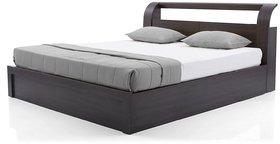 King Size Bed with Storage (Dark Oak)