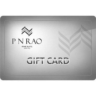 P N RAO Gift Card