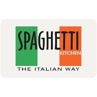 Spaghetti Kitchen Gift Card