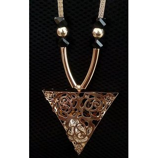 Gold Plated Diamond Pendent