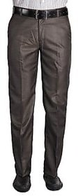 AmarDeep Premium Brown Formal Trouser