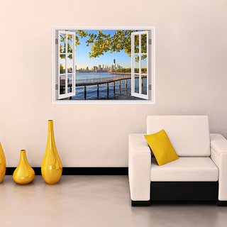 New York City Window Illusion
