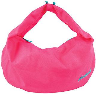 Fastrack A0322cpk01am Canvas Pink Handbag
