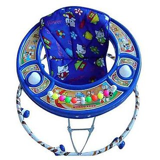 Abasr Baby Kids Multicolour Walker Blue Foldable