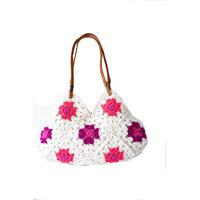 Ladies Bag Market Bag Crochet Purse Gift  Hand  Made  W