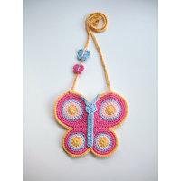 Ladies Bag Market Bag Crochet Purse Gift  Hand  Made  B