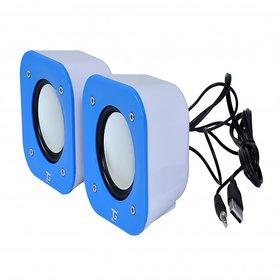 TacGears TG-WSPK-BB009-Blue Laptop/Desktop Speaker