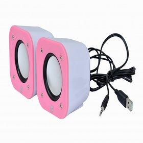 TacGears TG-WSPK-009-Pink Laptop/Desktop Speaker