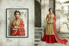 Golden Era - Top Georgette With Embroidery Work Dresses