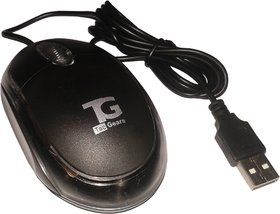 TacGears TG-WM-6001-Black Wired Optical Mouse Gaming Mouse