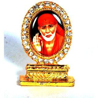 Kulin Sai Baba Idol - For Car Dashboard, Office-Desk, Table Decor, Home and Shop Showpiece