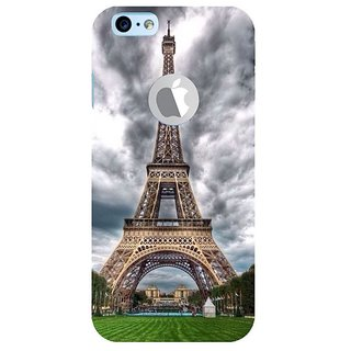 Fuson Designer Phone Back Case Cover Apple IPhone 6 (Logo View Window Case) ( Eiffel Tower With Overcast Sky )