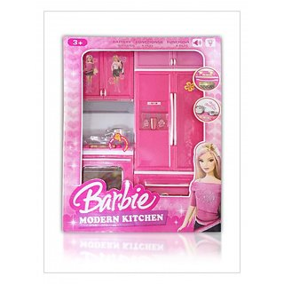 Buy Barbie Modern Kitchen Set For Kids Online Get 0 Off