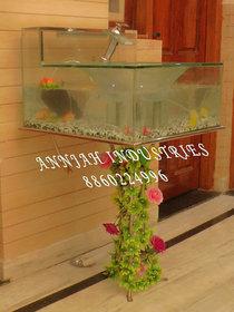 Wash basin cum Fish Aquarium