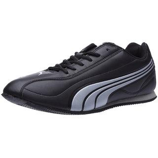 Puma Men S Black   Silver Smart Casuals Shoes 024a0c341