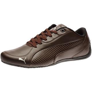 Buy Puma Drift Cat 5 Carbon Men S Brown Smart Casuals Shoes Online ... a50919162