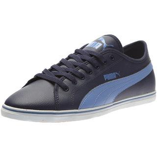 Buy Puma Elsu V2 Sl Men S Navy Smart Casuals Shoes Online - Get 50% Off 09a3ec16a
