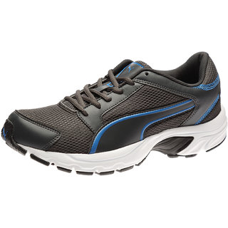 Buy Puma Splendor Idp Men S Gray   Blue Lace-Up Running Shoes Online ... ea74510c4