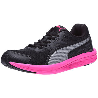 Buy Puma Women s Black   Pink Sports Shoes Online   ₹4499 from ... 2e2f01e93