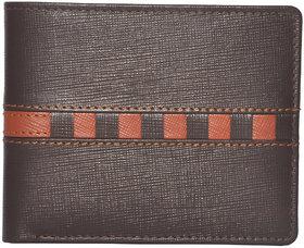 Tamanna Men Brown Genuine Leather Wallet  (6 Card Slots)