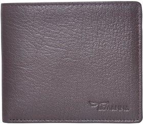 Tamanna Men Brown Genuine Leather Wallet  (3 Card Slots)
