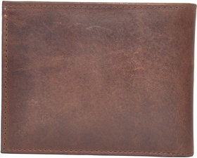 Tamanna Men Brown Genuine Leather Wallet  (7 Card Slots)