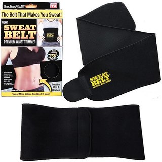 Sweat Slim Shaper Tummy Tucker Belt Unisex Pack of 1