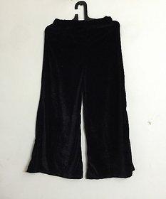 palazzo pants/women beautiful palazzo pants/ velvet palazzo/ ladies palazzo/ black velvet palazzo