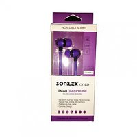 Sonilex Universal Earphone Handsfree with Mic -  with 3.5 mm Jack