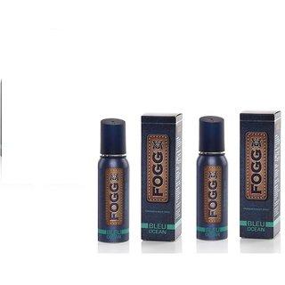 Fogg Bleu Ocean Deodorant Spray (Set Of 2) - For Men