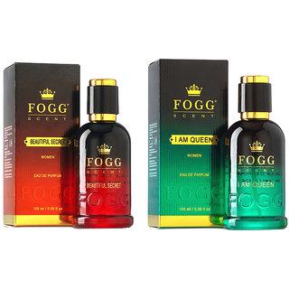 Fogg Scent Beautiful Secret I Am Queen (100 Ml) - For Women