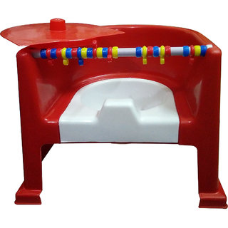 Gold Dust's Baby Traning Potty Seat cum Chair - Red