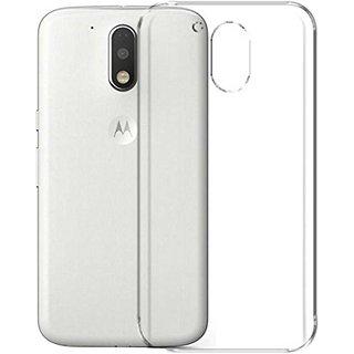 new concept e4d54 729eb TBZ Transparent TPU Back Case Cover for Motorola Moto G4 Play